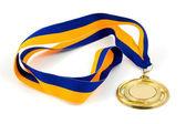 Golden medal — Stock Photo