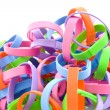 Stock Photo: Self made part streamers