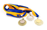Three medals — Stock Photo