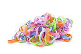 Self made party streamers — Stock Photo