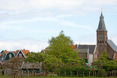 Typical dutch view of Marken — Stock Photo