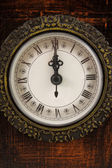 Clock strikes twelve o'clock — Foto Stock