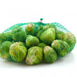 Net Brussels sprouts — Stock Photo