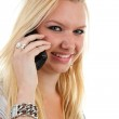 Young woman on the phone — Stock Photo #3215400