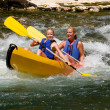 Two in canoe — Stock Photo #3216257