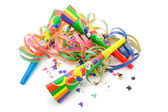 Colorful party decoration — Stock Photo