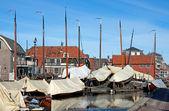 Port w holandii — Zdjęcie stockowe