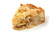 Stuk van apple pie — Stockfoto