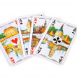 Ace cards — Stock Photo