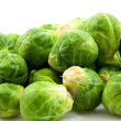 Brussels sprouts in closeup — Stock Photo #3354356