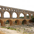 View of Pont Du Gard in France — Stock Photo