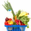 Foto Stock: Filled shopping basket