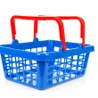 Empty shopping basket — Foto Stock