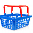 Stock Photo: Empty shopping basket