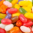 Background of colorful jelly beans candy - Stock Photo