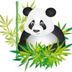 Panda vector — Stock Vector #3209119