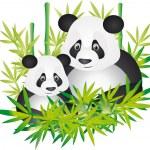 Panda vector — Stock Vector #3209192