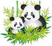 Panda vector — Stock Vector