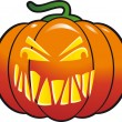 Halloween Pumpkin vector — Stock Vector