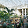 Atrium at a resort hotel — ストック写真