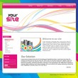Stock Vector: Web site design template
