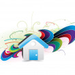 House icon - Stockvectorbeeld