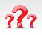 Symbol of question mark — Stock Vector