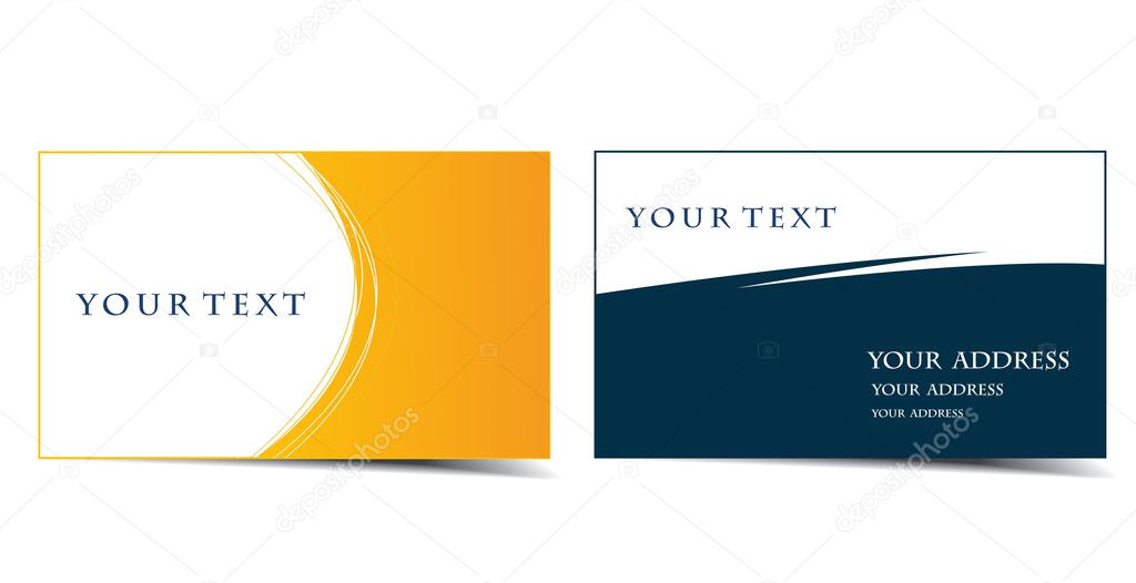 Business card — Stock Vector © redshinestudio