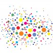 Disco lights dots - Imagen vectorial