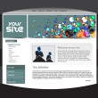 Website-design — Stockvektor  #3128444