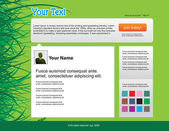 Twitter themes — Vector de stock