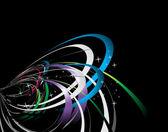 抽象波浪背景 — 图库矢量图片