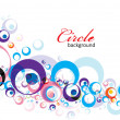 Circle background — Vettoriali Stock