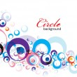 Circle background — Imagen vectorial