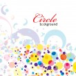Circle background - Image vectorielle