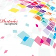 Abstract mosaic background — Vector de stock