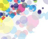 абстрактный красочный фон — Cтоковый вектор