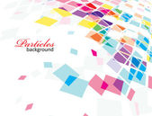 Abstract mosaic background — Stockvektor