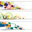 Colorful banners - Imagen vectorial