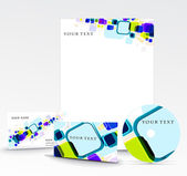 Business style templates — Stock Vector