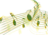 Music notes — Vector de stock