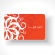 Beautiful gift card — Stock Vector #3441191