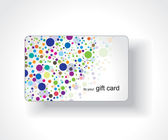 Beautiful gift card — Stockvektor