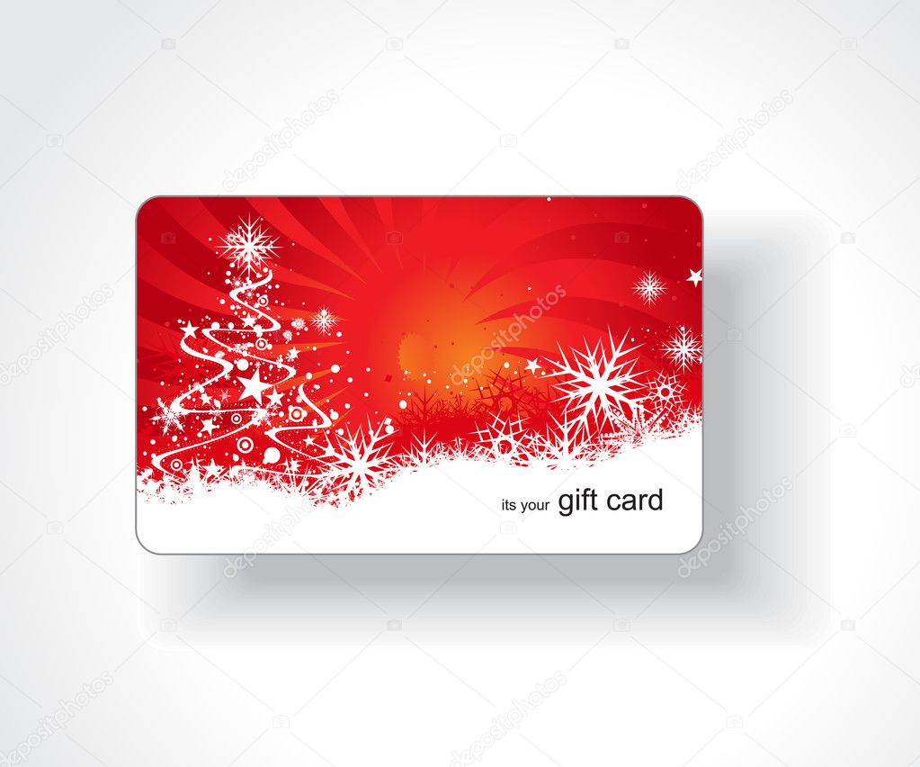 Beautiful gift card, vector illustration.    #3441830