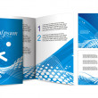 Royalty-Free Stock Imagem Vetorial: Brochure design