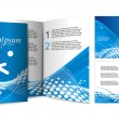 Royalty-Free Stock Imagen vectorial: Brochure design