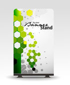 Stand banner template — Stock Vector