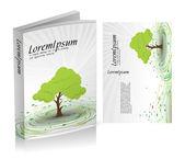 Design de capa de livro — Vetor de Stock