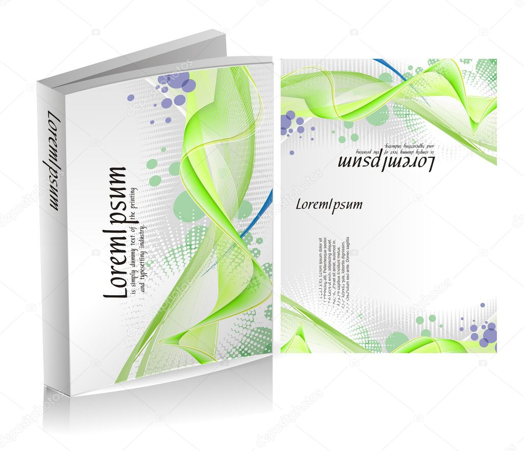 Book Cover Design  Stock Illustration