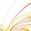 Abstract wave line background - Image vectorielle